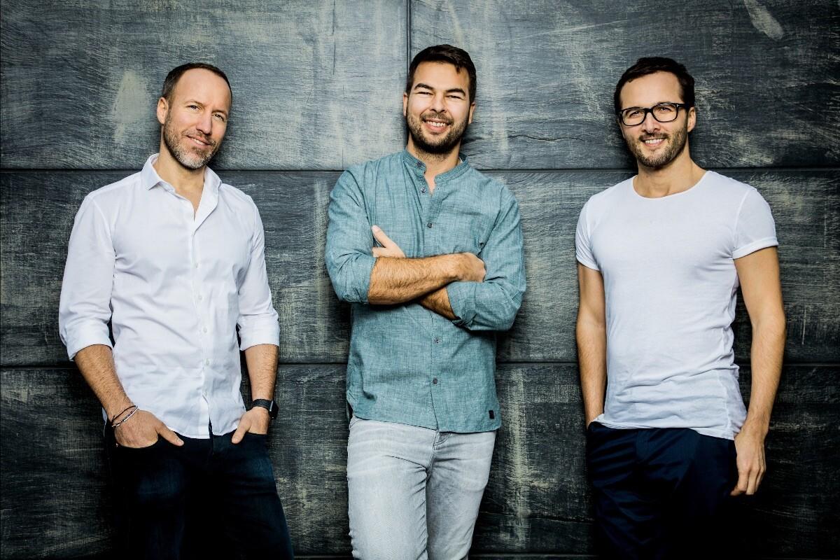 Die drei Everdrop-Gründer Chris Becker, Daniel Schmitt-Haverkamp und David Löwe
