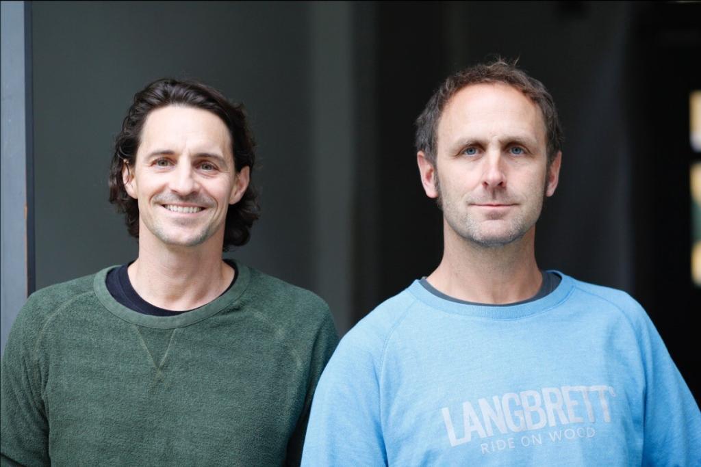 Die Langbrett-Gründer Alexander Nolte (links) und Oliver Spies (rechts)