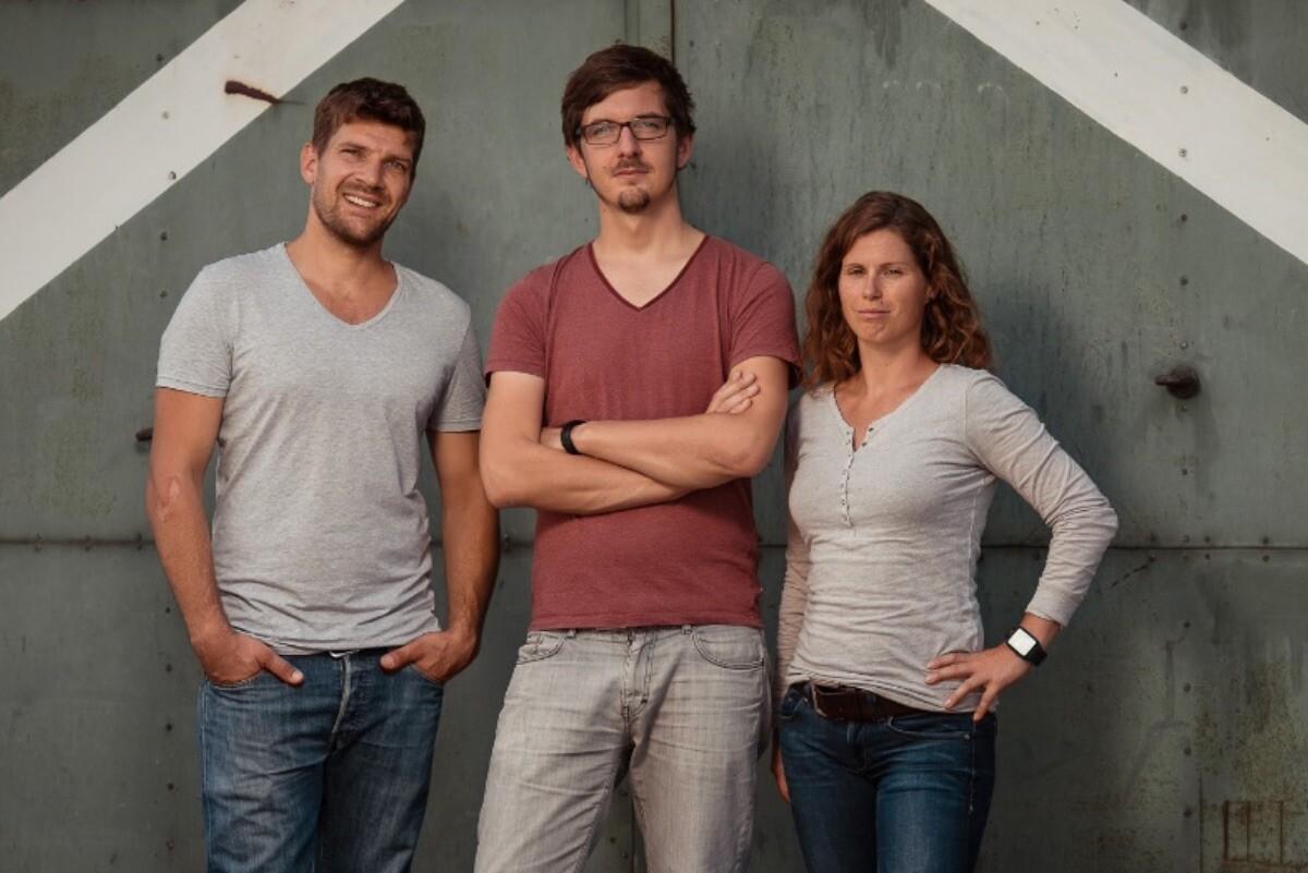 Die Wetell-Gründer Andreas Schmucker, Nico Tucher und Alma Spribille